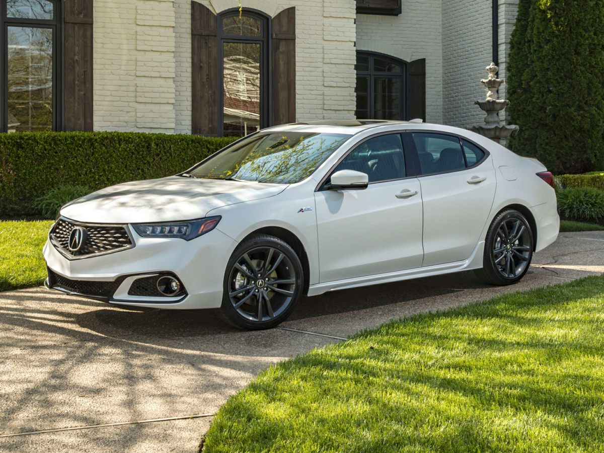 new 2019 acura tlx 3 5 v 6 9 at sh awd with a spec red 4d sedan in