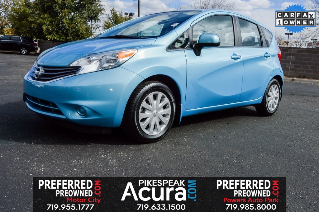 Pre Owned 2014 Nissan Versa Note S Plus 4d Hatchback In Colorado